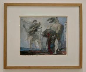 Picasso - La Dépouille du Minotaure en costume d'Arlequin - 1936