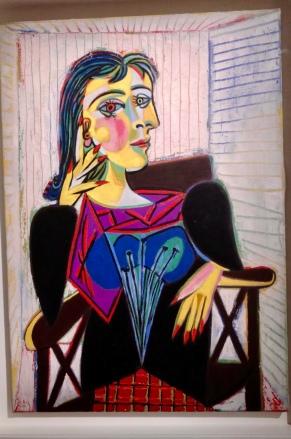 Picasso - Portrait Dora Maar - 1937