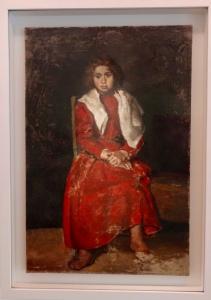 Picasso - La Fillette aux pieds nuds - 1895